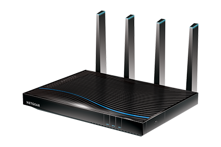 Nighthawk<sup>®</sup> Tri-Band WiFi VSDL/ADSL Modem Router