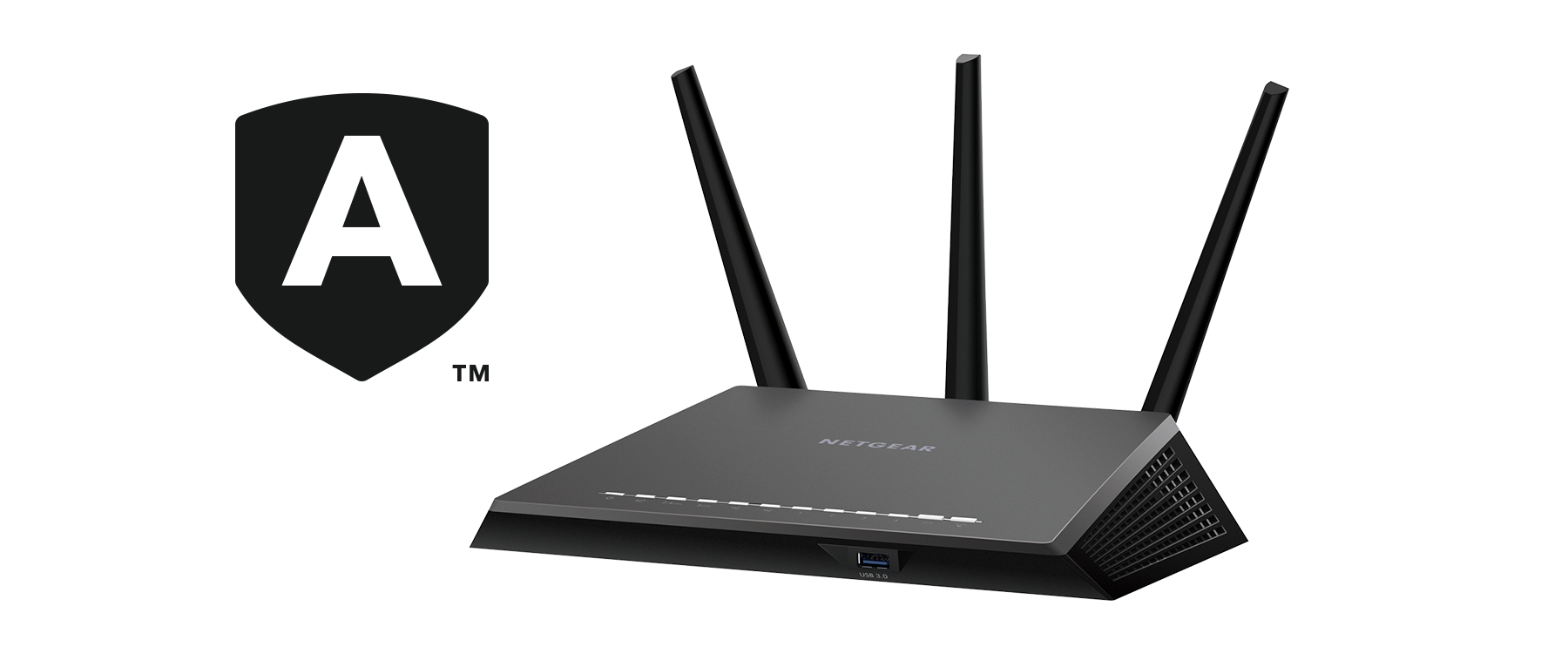 Nighthawk Smart WiFi-router met Netgear Armor