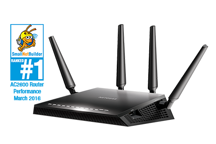 Nighthawk X4S Smart WiFi Gaming Router
