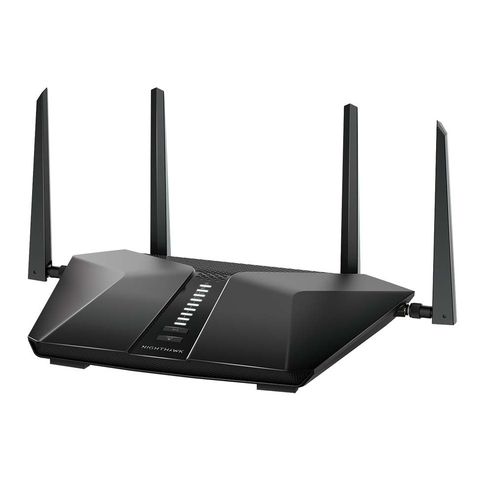 Nighthawk AX6 WiFi 6-router met 6 streams en NETGEAR Armor<sup>TM</sup>