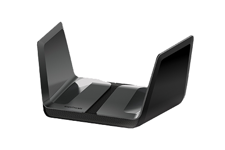 Nighthawk AX8 WiFi 6-router met 8 streams en NETGEAR Armor<sup>™</sup>